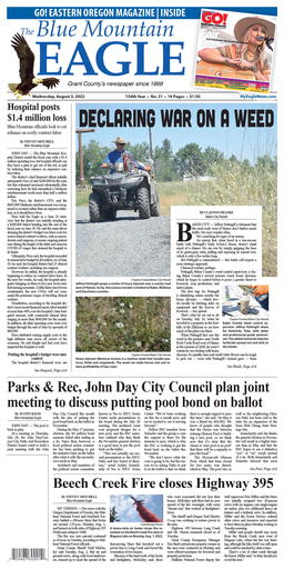 Blue Mountain Eagle Latest e-edition